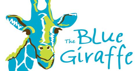 The Blue Giraffe
